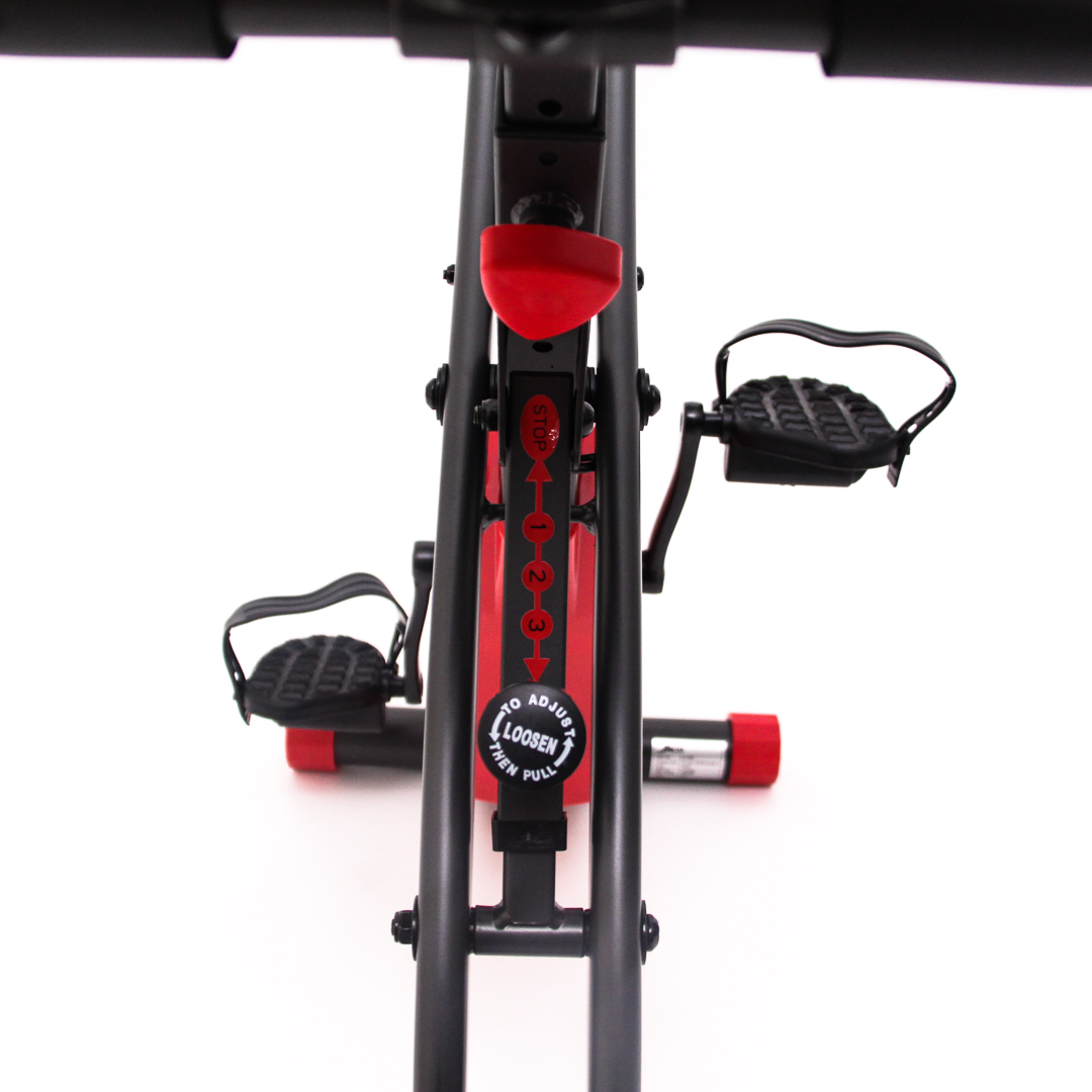 Rope Bike Red - Back Display