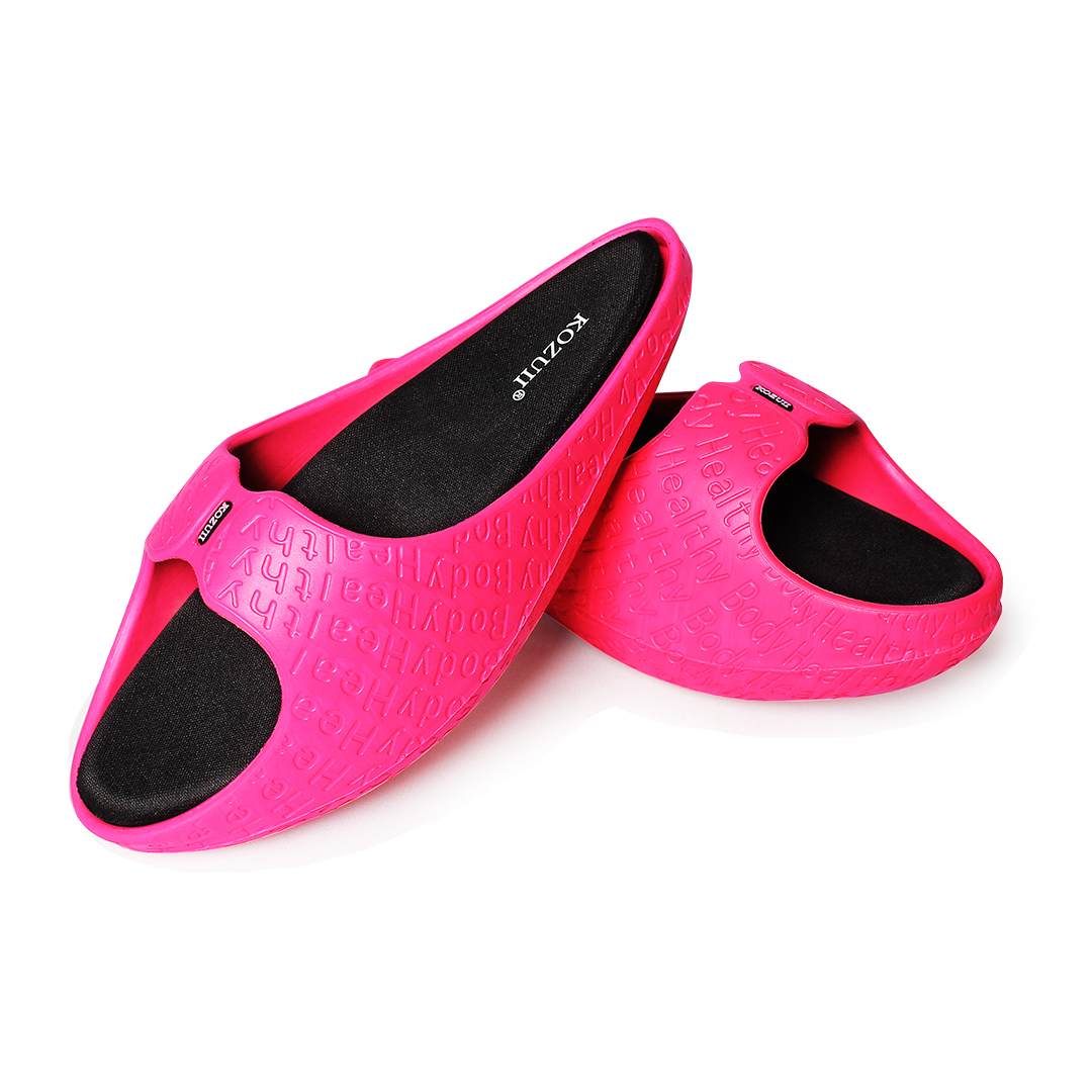 Kozuii-Healthy-Shoes-Pink-Display
